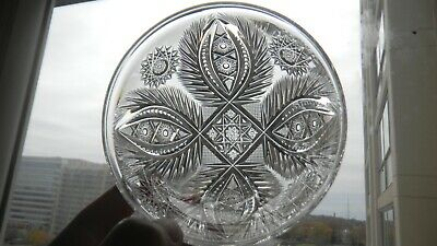 ANNE 4  Finger Bowl  WC Anderson Libbey American Brilliant Cut Glass • 99.99$