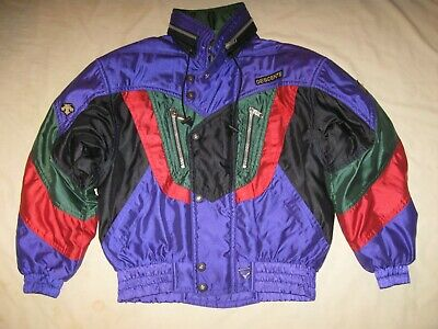 $69.99 • Buy Descente Vintage Ski Jacket Winter Coat Snow Boarding Men's Medium 90s Skiing