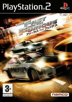 The Fast And The Furious Ps2 • 14.90£