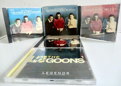 Very Best Of The Goons & Spike Milligan 3-cd Box Set Plus The Goons Legends 1 • 8.99£