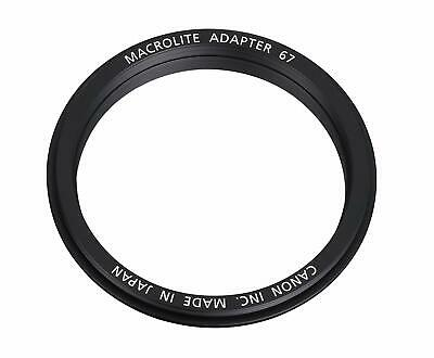 AU83.49 • Buy Canon Microlite Adapter 67C For EF 100mm F/2.8L Macro IS USM Lens