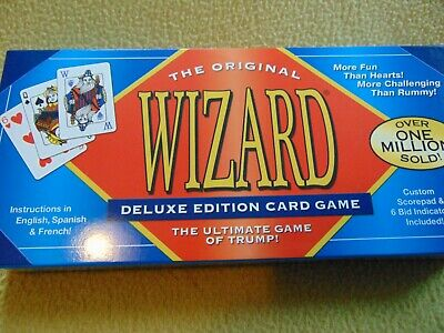 1997 Wizard Card Game: The Ultimate Game Of Trump! (Game) • 12.99$