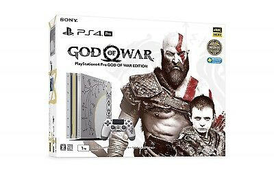 AU1004.61 • Buy PS4 Pro God Of War Edition Japan 1TB Sony PlayStation 4 Game Console USED