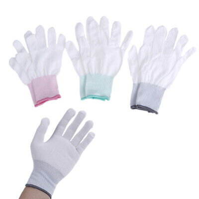 2Pairs Antistatic Antiskid Gloves PC Computer Repair Working Finger ProtectionMF • 4.83$