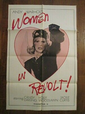 $200 • Buy Women In Revolt  -  Original 1973    1sheet Movie Poster - Andy Warhol
