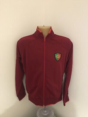 Portugal Forca Long Sleeve Tracksuit Football Top Size Adult S • 12.99£