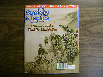 Strategy & Tactics #241 ~ Ottoman Twilight ~ Unpunched ~ Decision Games • 26$