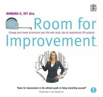 AU7.18 • Buy Room For Improvement: Change Your Home And Enhance Your Life With Tools, Tips An