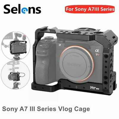$ CDN55.72 • Buy Selens Little Cage House For Sony A7III Camera Protective Vlogging Holder