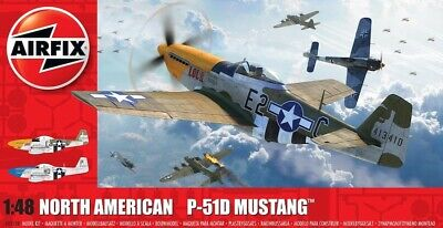 Airfix 1/48 North-American P-51D Mustang # A05138 • 21.50£