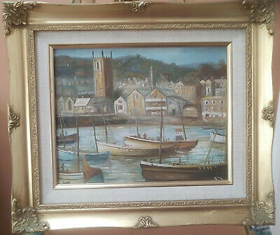 Original Oil Painting St Ives • 95£