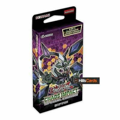 YuGiOh Chaos Impact Special Edition Pack | New & Sealed | TCG Booster Packs • 8.45£