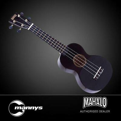 AU40 • Buy Mahalo Rainbow Series Soprano Ukulele (Black) Inc Bag