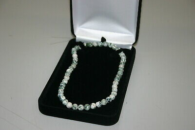 $14.99 • Buy Black Velvet Necklace Chain Beads Pearls Jewelry Gift Box With FREE White Box