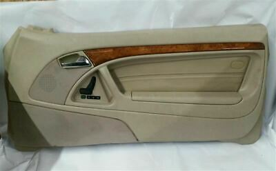 $234 • Buy Front Passenger Side Interior Door Trim Panel Fits 1997 Mercedes SL500 R307031