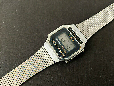 $ CDN42.23 • Buy ANTIC Alarm Melody Chronograph, Vintage LCD Watch For Parts Or Repair