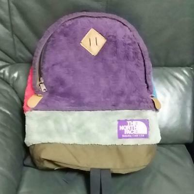 $149 • Buy Used Backpack THE NORTH FACE RED BLUE PURPLE LABEL Very Rare