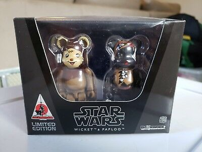 $44.99 • Buy WICKET And PAPLOO MEDICOM BEARBRICK BOX SET LIMITED SOLD OUT CELEBRATION JAPAN