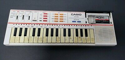 $26.99 • Buy Casio PT-82 Keyboard Vintage Synthesizer W/ World Songs ROM Pack RO-551 - Works!
