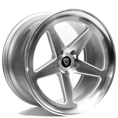 $1399 • Buy 4ea 20  Marquee Wheels M9535 Silver Machined Rims (S5)