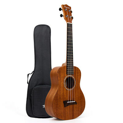 AU60.99 • Buy Mahogany Top Tenor Ukulele 26 Inch Hawaii Guitar Bridge With Bag