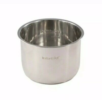 $28.95 • Buy Genuine Instant Pot Stainless Steel Inner Cooking Pot 6 Quart Replacement Part