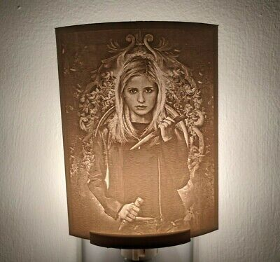 $24.99 • Buy Buffy The Vampire Slayer Lithophane Incandescent Night Light