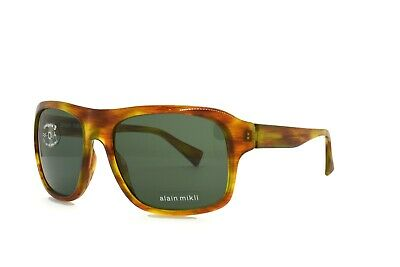 £127.48 • Buy Alain Mikli SUNGLASSES Brown 1161 2920 New Authentic 58mm