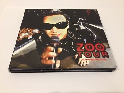 U2 Live Washington, ZOO TV DC 1992 Soundboard Remaster 2 CDS NEW • 45$