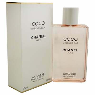 Chanel COCO MADEMOISELLE Velvet Body Oil 6.8oz / 200ml NEW SEALED BOX • 74.95$