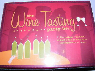 The Wine Tasting Party Kit: Host A Party In Your Home F U N !!!NIB! • 17.99$