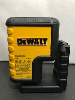 $69.95 • Buy DeWalt DW0 8302 - 3 V DC Red Line Beam Laser 2 Self-Leveling. Brand New!