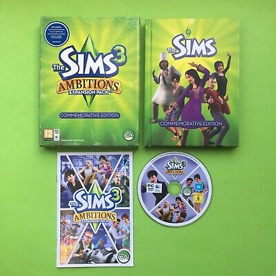 The Sims 3 Ambitions Expansion Pack Commemorative Edition PC • 8.83£