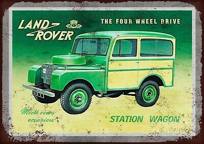 Land Rover Metal Wall Sign  • 6.50£