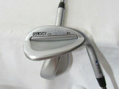 Used Ping Glide 2.0 Blue Dot Wedge Set (54 58) Ping ATW 2.0 Wedge Flex Steel  • 19$