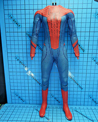 $ CDN198.47 • Buy Hot Toys 1:6 MMS179 Amazing Spider-Man Spiderman Figure - Muscular Body + Suit