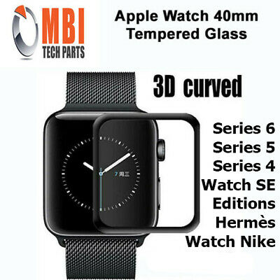 $ CDN6.32 • Buy Apple Watch 40mm Tempered Glass 9H Full Screen Protector 0.26mm For Series 4 5