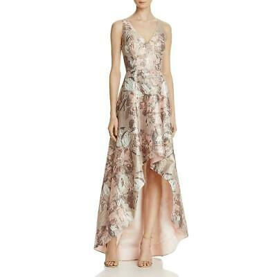 $112.49 • Buy Aidan Mattox Sleeveless Jacquard High/Low Gown MSRP $495 Size 6 # 1A 997 NEW