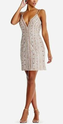 $52.49 • Buy Aidan Mattox Embellished Cocktail Dress MSRP $495 Size 16 # 12A 907 Blm