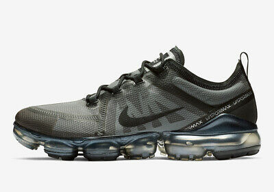 Nike Air Vapormax 2019 Mens Running Triple Black/Ghost Mult Sizes AR6631-004 • 115.95$