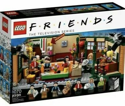 LEGO FRIENDS Central Perk Tv Show Friends 21319 Brand New Factory Sealed • 94.95$