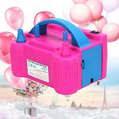 £17.19 • Buy 600W Portable Electric Pump Party Balloon Inflator Air Blower Dual Nozzles UK