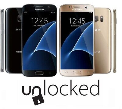 $ CDN127.61 • Buy Samsung Galaxy S7 - 32GB | GSM Unlocked | T-Mobile | AT&T | Boost Mobile