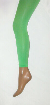 Elf Green Footless Tights. 10-14 70 Den • 4.99£