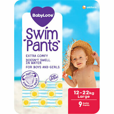AU12.99 • Buy BabyLove Swim Pants Large 9 Pack