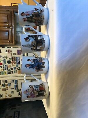 $ CDN13.58 • Buy Vintage Norman Rockwell 1986 Museum Collection Coffee Cups/Mugs Set Of 4