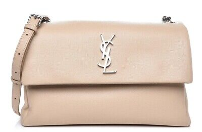 AU1125 • Buy 100% Authentic BNWT YSL Yves Saint Laurent Nude West Hollywood Bag