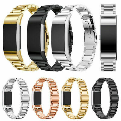 AU17.19 • Buy Replacement Bracelet Strap Watch Band Stainless Steel For Fitbit Charge 2 / 3