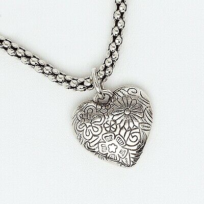 AU20.04 • Buy Heart Pendant For Women And Girls In White Gold Filled