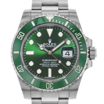 $ CDN24040.42 • Buy Rolex Submariner 116610 Men's Stainless Steel Automatic Green 1 Year Warranty